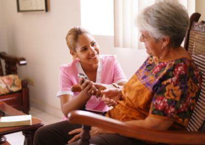 The Effects of COVID-19 on Long-Term Care Facility Scheduling