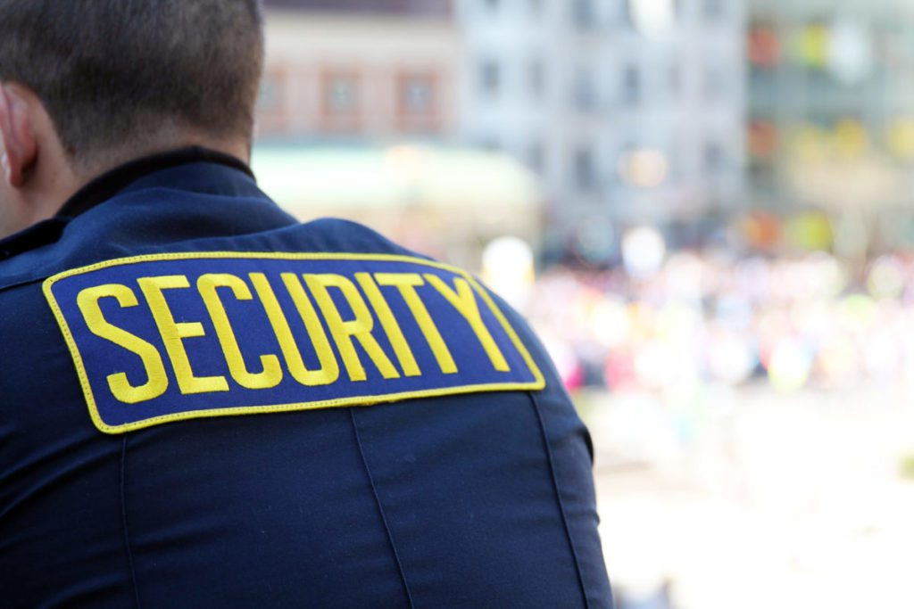 featured image of security guard